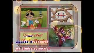Sigle Cartoni Animati - Bambino Pinocchio (karaoke - fair use)