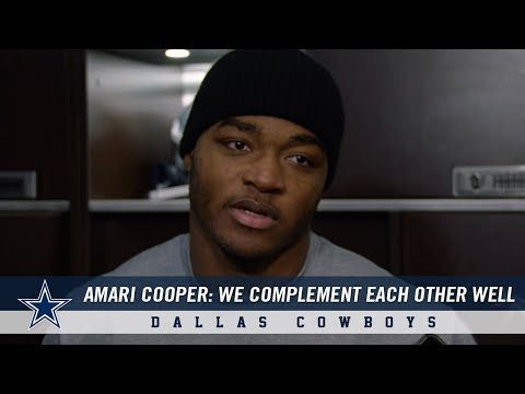 Amari Cooper: We Complement Each Other Well   Dallas Cowboys 2018