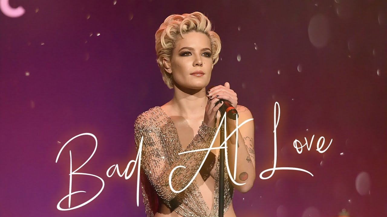 Halsey Bad At Love Lyric Alternative Indie Rock Cover