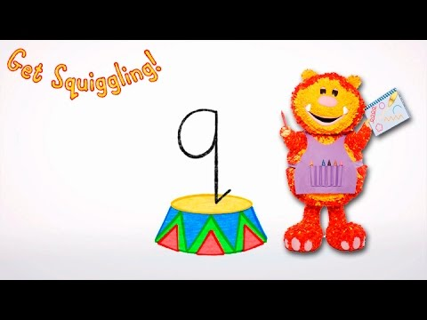 Get Squiggling Letters   Letter Q