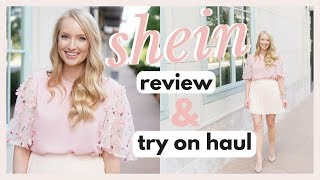 SHEIN REVIEW AND TRY ON HAUL