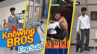 Han Hyun Min's backstage 'Changing and back to runway in 1 minute'- Knowing Bros 112