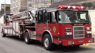 Fire Trucks Responding Compilation Part 29 - Ladder Trucks