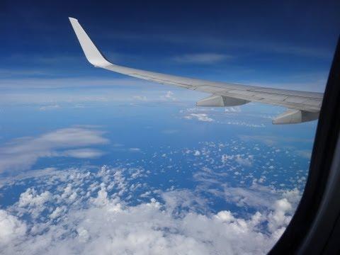 Landing in Kuala Lumpur International Airport - Malaysia