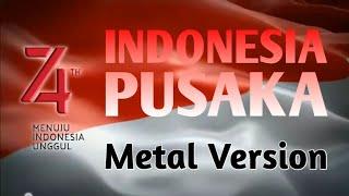 Indonesia Pusaka - Cover Metal FL Studio