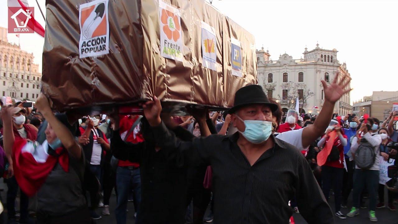 Marcha contra merino - protesta artística pacífica - Casa brava TV.