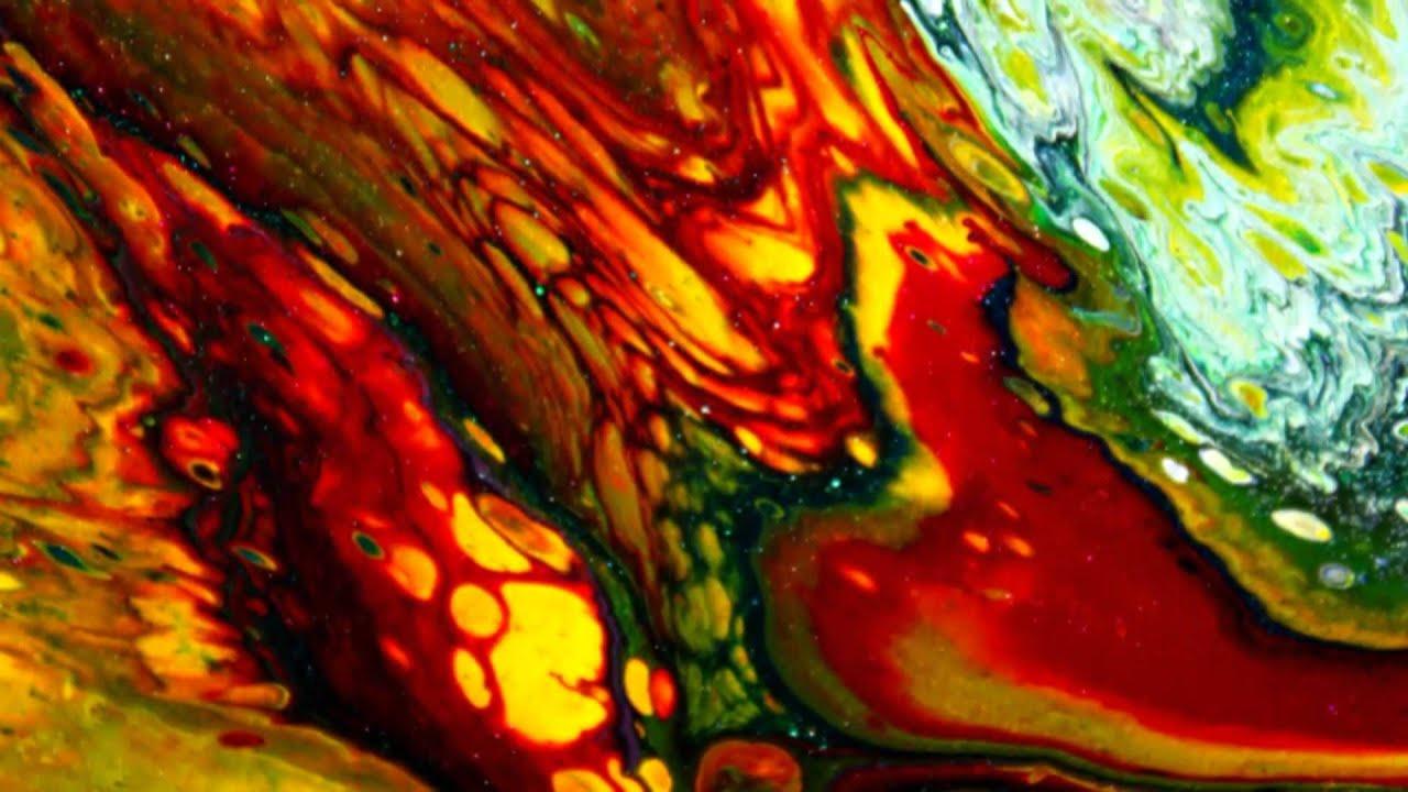 You Tube Fluid Acrylic Painting