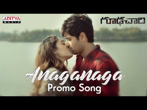 Anaganaga Video Promo Song | Goodachari Songs | Adivi Sesh, Sobhita Dhulipala | Sricharan Pakala thumbnail