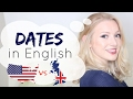 DATES & YEARS in British & American English