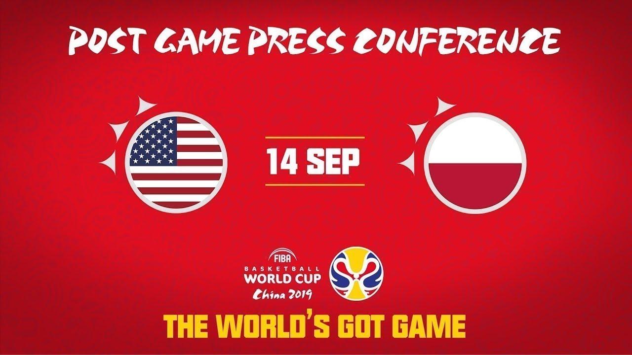 USA v Poland - (USA part) - Press Conference