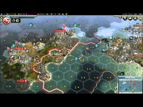 Let's Play Civilization V Aztec (Attack) Part 17