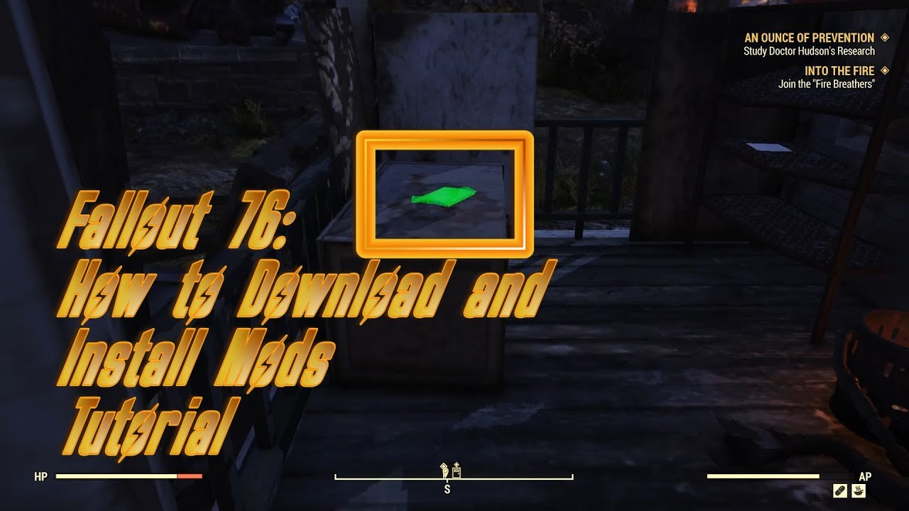 Fallout 76: How to Download and Install Mods