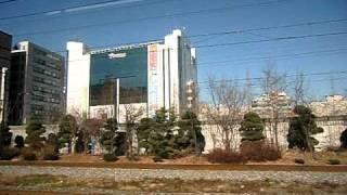 ソウル地下鉄1号線 富川駅→中洞駅→松内駅2010-12-7CIMG143