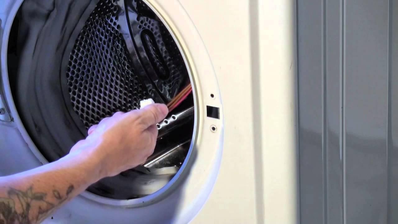 How To Replace A Washing Machine Door Interlock Youtube Wiring Diagram