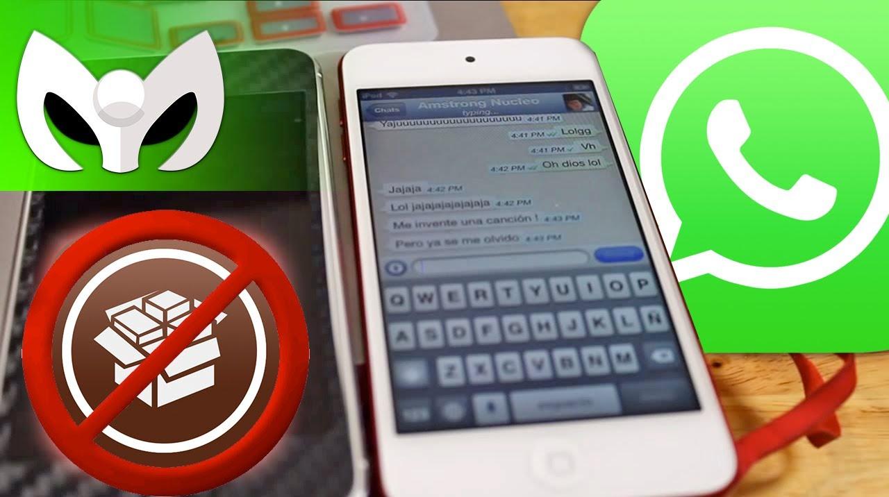 como hackear un ipod para tener whatsapp
