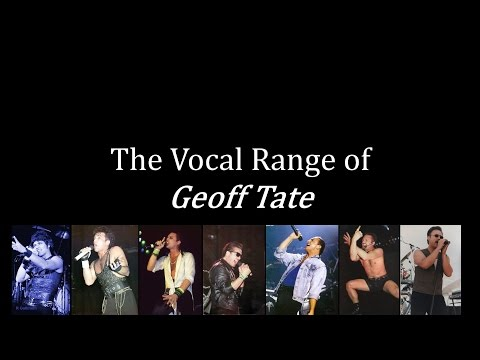 The Vocal Range of Geoff Tate