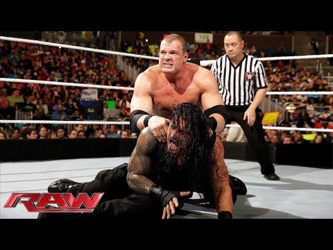 Roman Reigns vs. Kane: Raw, February 16, 2015