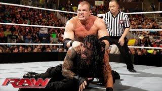 Roman Reigns vs. Kane: Raw, February 16, 2015