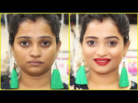 How to Look GLAMOURS in 5 Minutes!_GLAM MAKEUP LOOK FOR PARTY   INDIAN MOM ON DUTY