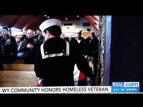 Stephen Reiman - Homeless Veteran's Funeral