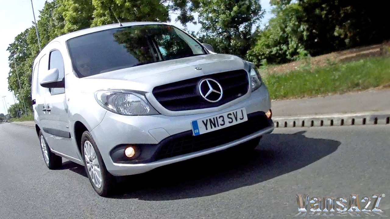 mercedes benz citan 2013 test drive review youtube. Black Bedroom Furniture Sets. Home Design Ideas