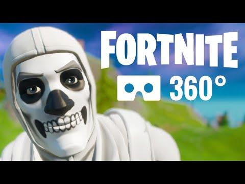 360 Video VR Fortnite 360° Halloween Skeleton Skin Chapter 2 PSVR 4K