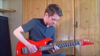 Joe Satriani - Revelation (Guitar Cover/Improvisation) By Ryan Smith With Ibanez JS2410