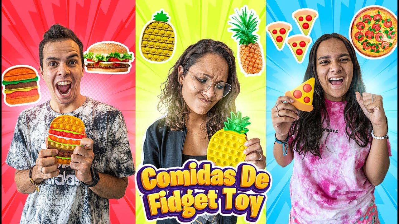 Download 24 HORAS SÓ COMENDO COMIDAS DE FIGETS TOYS! - MUITO DIFÍCIL!