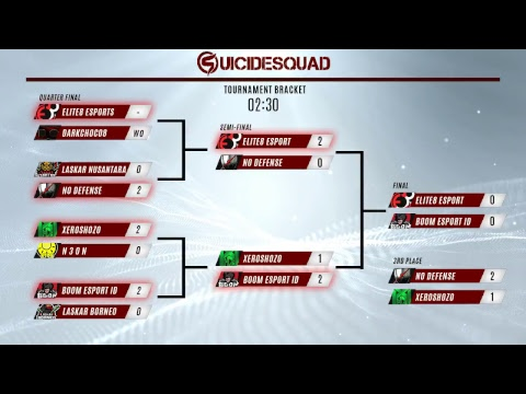 Suicide Squad Indonesia Online Tournament - The Finals!