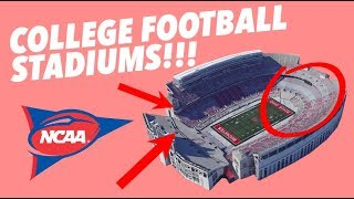 CRITIQUING the TOP 25 COLLEGE FOOTBALL STADIUMS - Secrets and Traditions