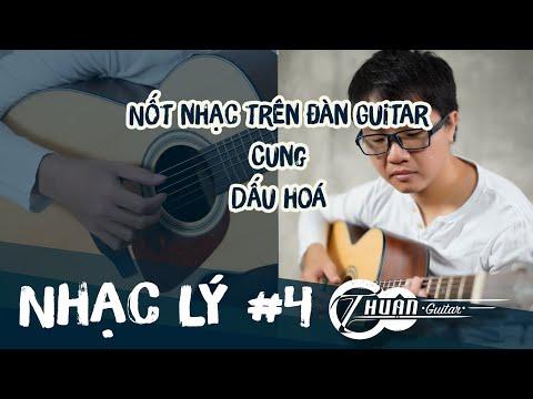NHẠC LÝ GUITAR BÀI 4 | Nốt nhạc trên đàn Guitar - Cung - Dấu hoá