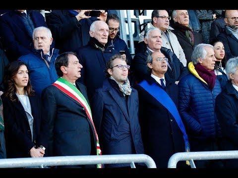 Barletta, Inno nazionale durante inaugurazione pista Atletica intitolata a Pietro Mennea