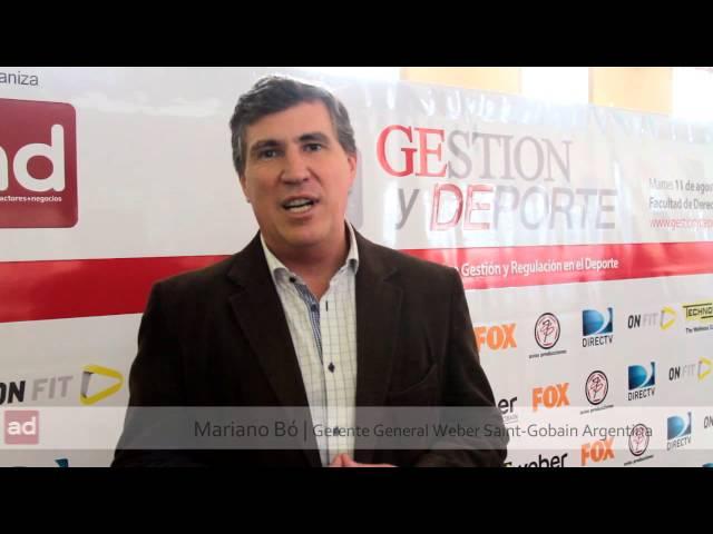 Mariano Bó | Orador | GESTION y DEPORTE 2015