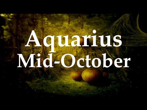 Aquarius Mid-October 2017 COMING OUT THE END OF THE TUNNEL - Aquarian Insight