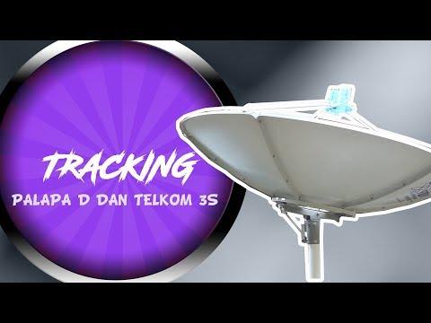 Cara Tracking Mencari Telkom 3S dan Palapa D (Parabola C band 2 LNB)