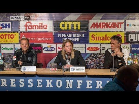 13. Spieltag   KSV - SGD   Pressekonferenz nach dem Spiel