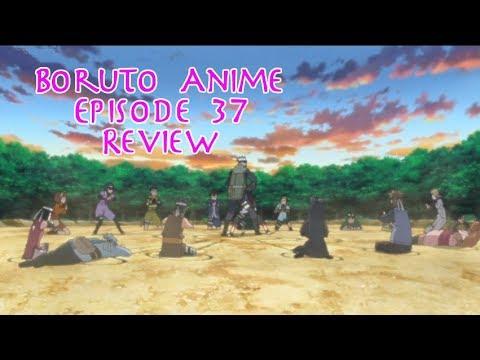 Boruto Anime Episode Review - 37 A Shinobi's Resolve