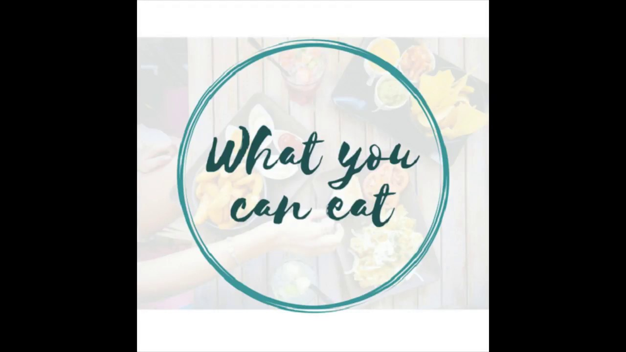 What You Can Eat App