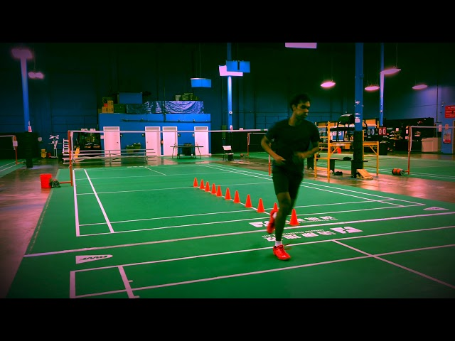 Badminton Agility Training Exercises