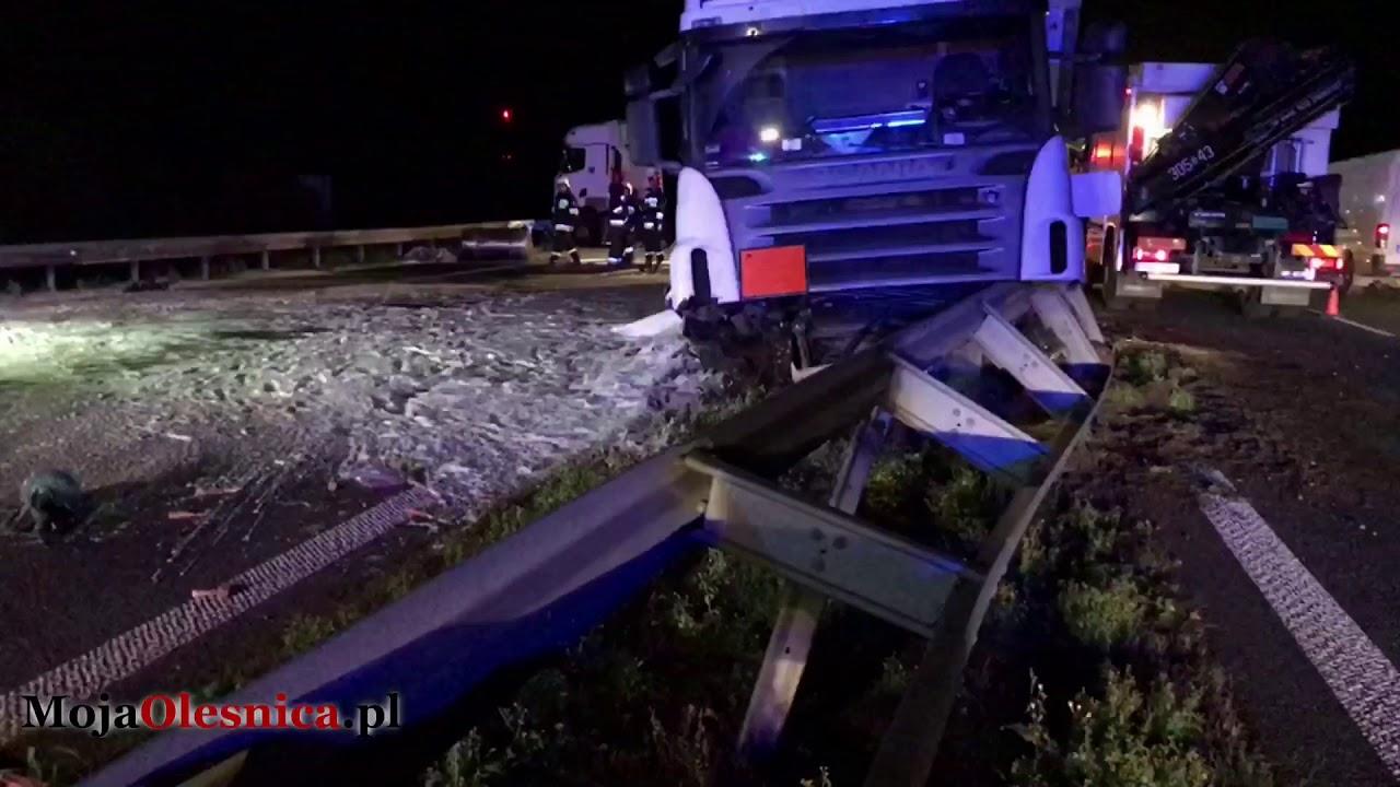 12.11.2017 Wypadek na trasie S8