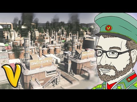 SUPREME OIL INDUSTRY!! Cities Skylines Building Vladistan #6