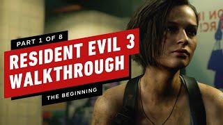 Resident Evil 3 Walkthrough - The Beginning (Part 1)