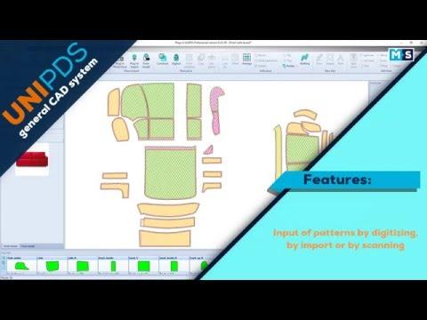 UniPDS Pattern Design Software  Upholstery furniture