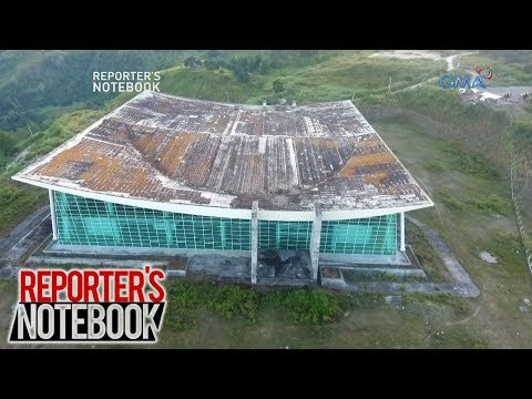 Reporter's Notebook: Cagayan de Oro Convention Center, isang dekada nang nakatengga