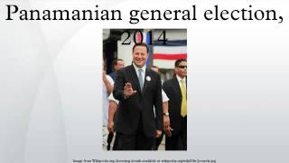 Panamanian general election, 2014