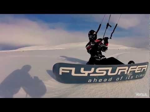 Snowkitetrip Versus 2012 -- Hardangervidda, Haugastøl, Noorwegen