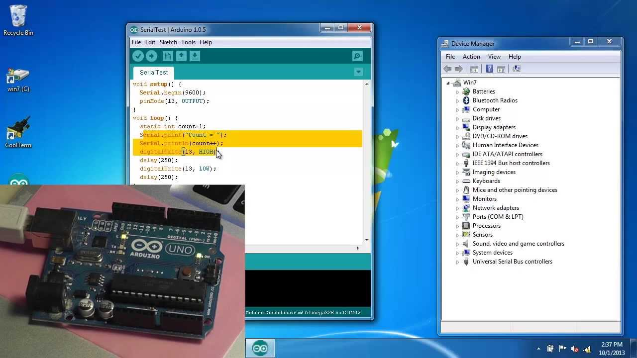 usb serial port driver for windows 7 64 bit