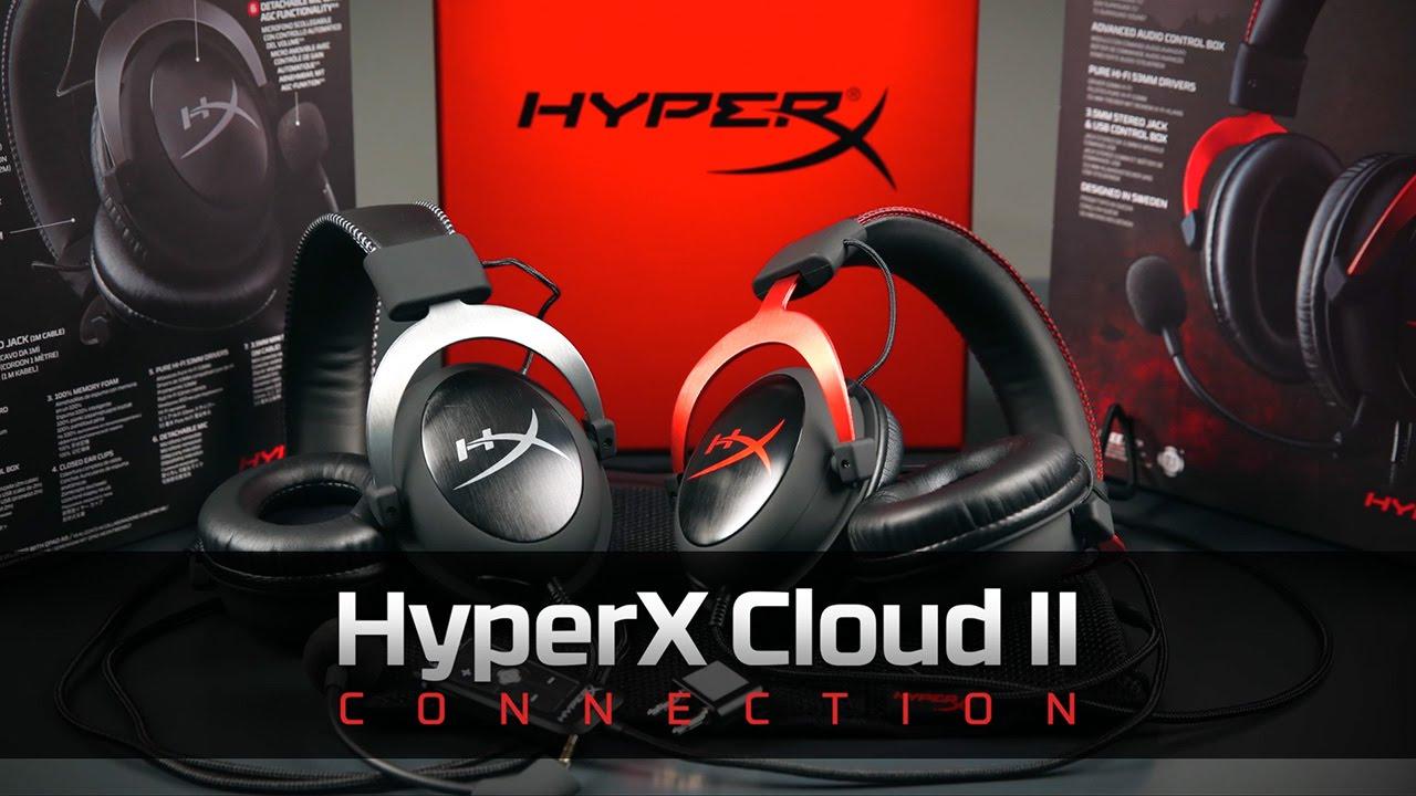 Cách kết nối Tai nghe HyperX Cloud II