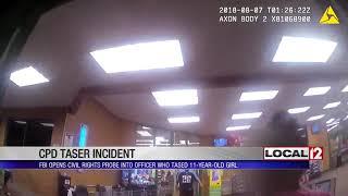 Fbi Investigating Cpd Officer For Using Taser On Girl