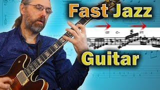 Gambar cover How to Play Fast & Difficult Jazz Guitar Phrases